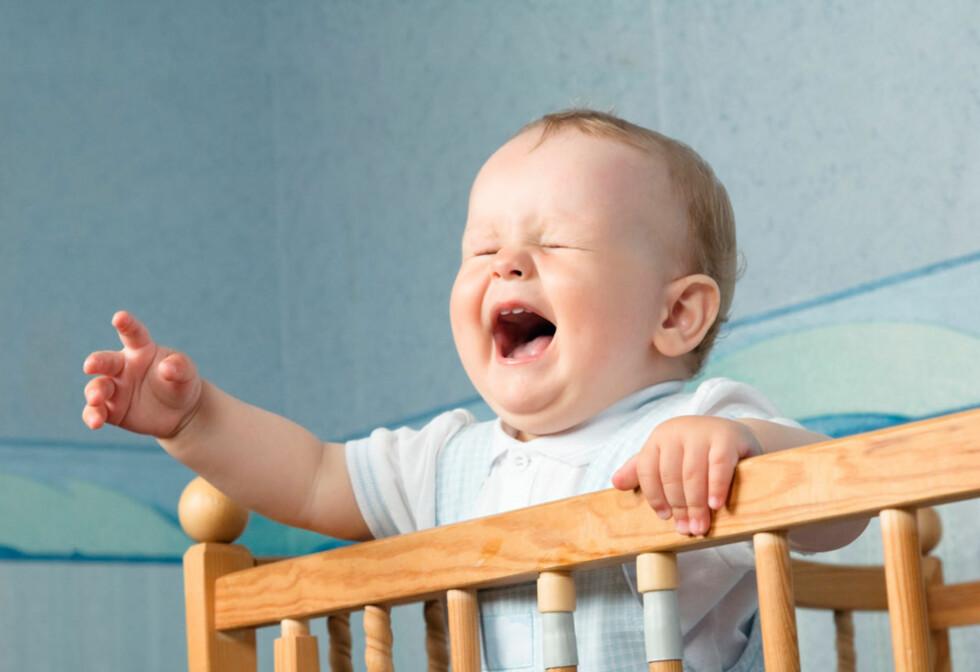 VÅKNER STADIG: Kjent problemstilling for de fleste foreldre. Foto: Shutterstock ©