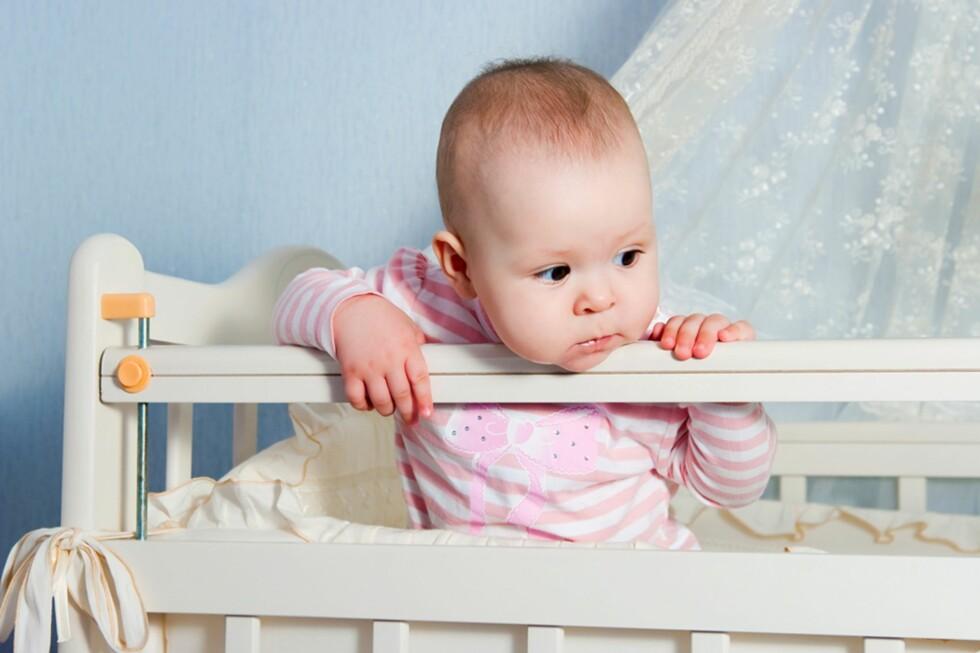 GRADVIS TILVENNING: Etter hvert kan man forlate barnet i korte perioder, mener Jeanette Wegge-Larsen. Foto: Shutterstock