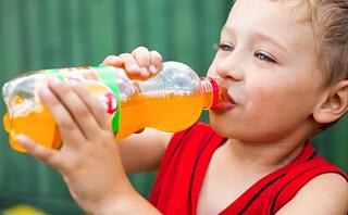 Det er farlig for barn å drikke eller spise light-produkter