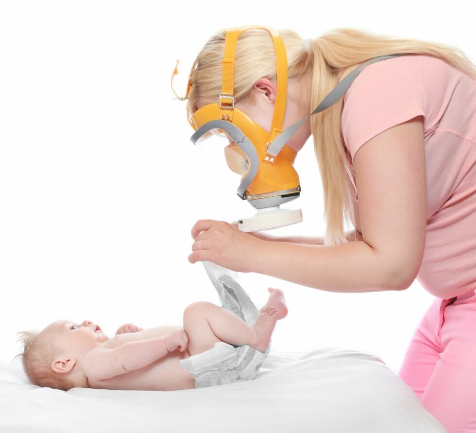 GASSMASKE: Kanskje et alternativ til barnehageansatte? Foto: Shutterstock