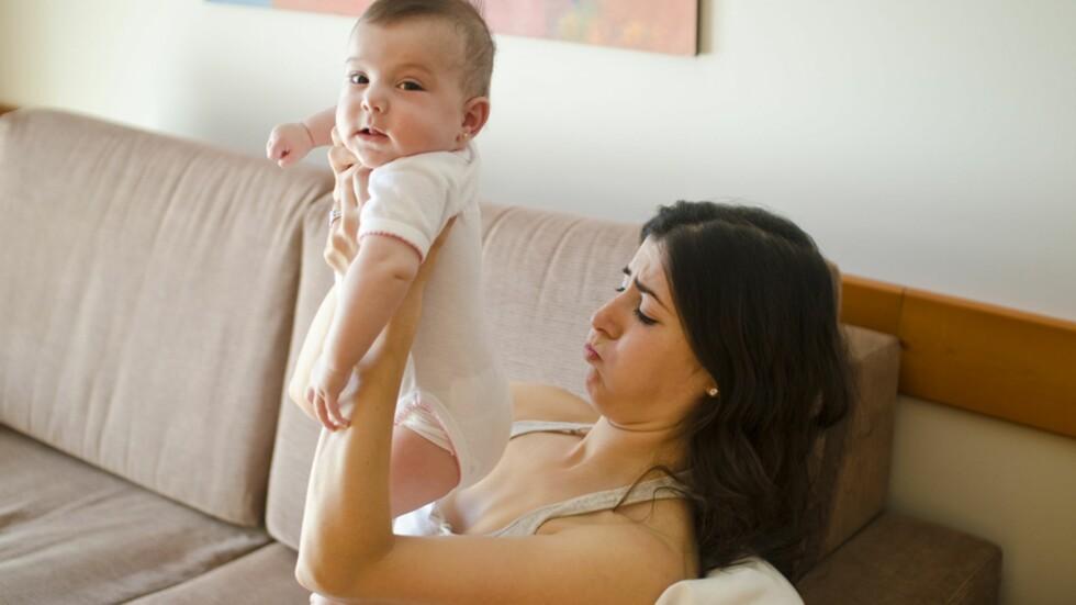 STINKBOMBE: Livet som småbarnsforeldre er ikke alltid like glamorøst... Foto: Shutterstock
