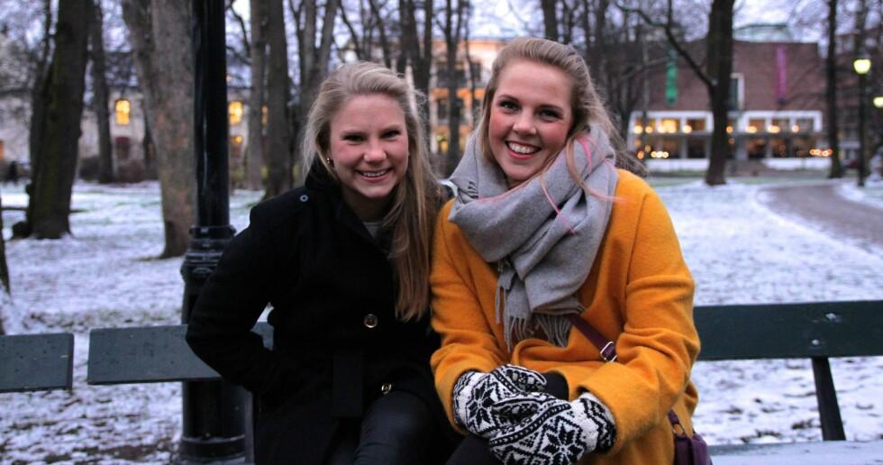 SPISSKOMPETANSE INNEN STELL AV NYFØDTE: Louise Rostad og Maja Næss Wanggaard har startet Barnepiken.no.  Foto: Kristian Witsø