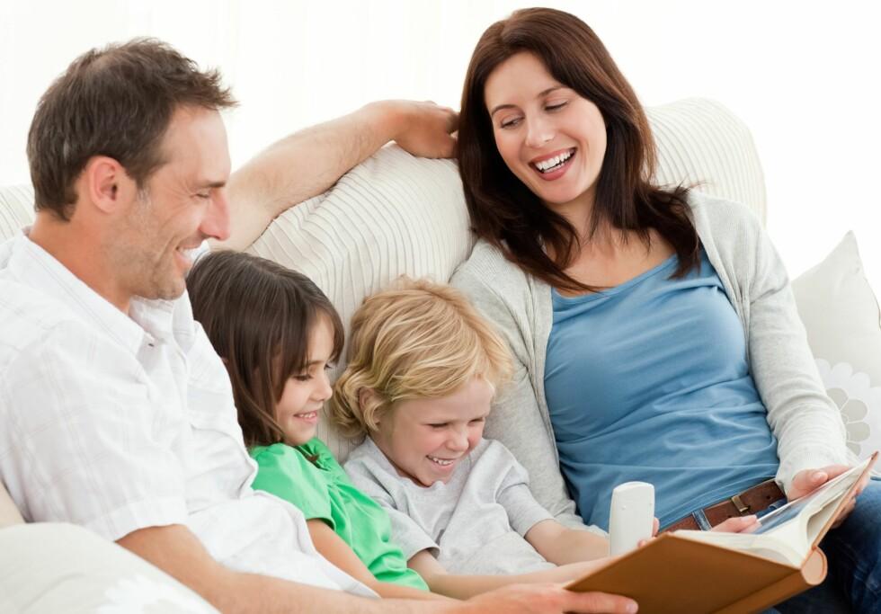 <strong>FINT FOR DE MINSTE:</strong> Å lage kalenderen som et fotoalbum innbyr til en hyggelig familiestund. Foto: Shutterstock