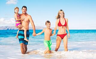 Hit reiser barnefamiliene til sommeren
