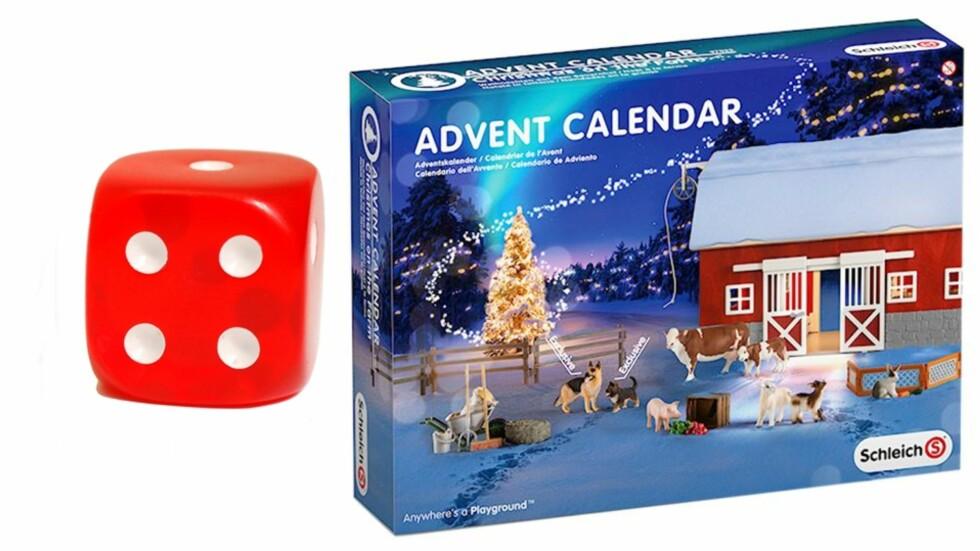 <strong>BONDEGÅRD JULEKALENDER:</strong> Fin, men litt kjedelig kalender. Foto: Produsenten