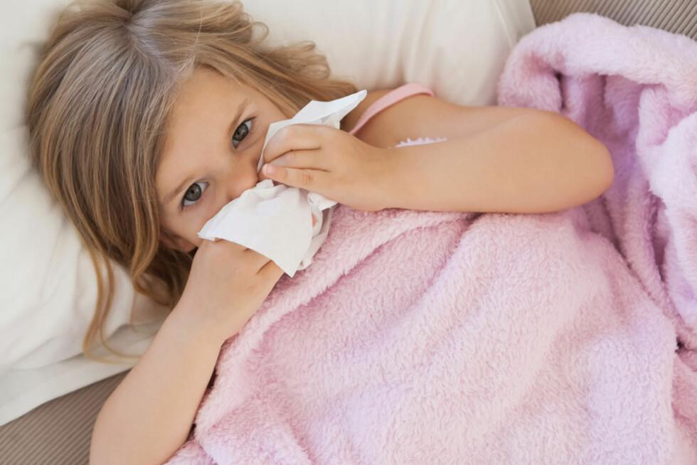 RENNENDE NESE: Viruset herjer! Foto: Shutterstock.com ©