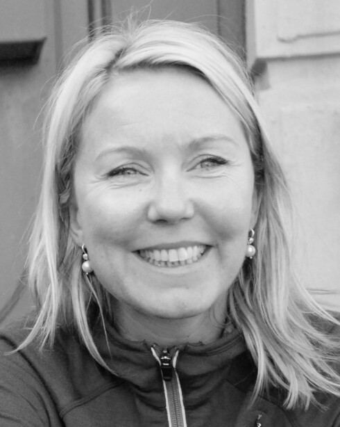 EKSTREMT SIKKERHETSHYSTERI: Ellen Beate Hansen Sandseter håper vi aldri får amerikanske tilstander her i Norge. Foto: Privat