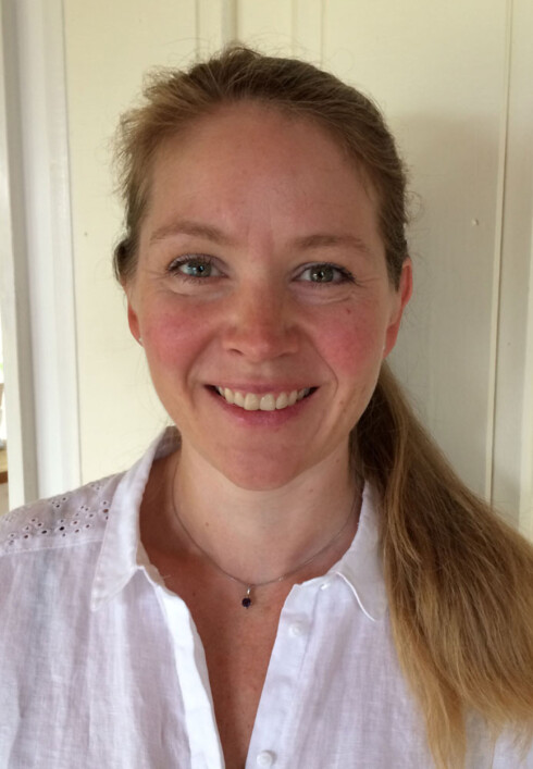 Forsker Helle Falkenberg: Nærproblemer og langsynthet oppdages først etter barnet begynner på skole. Foto: privat