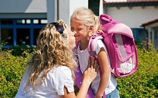 - Noen barn blir skuffet første skoledag