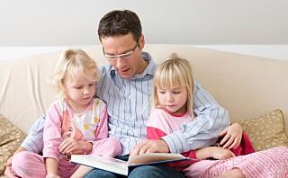Slik skaper du tidlig leseglede hos barnet