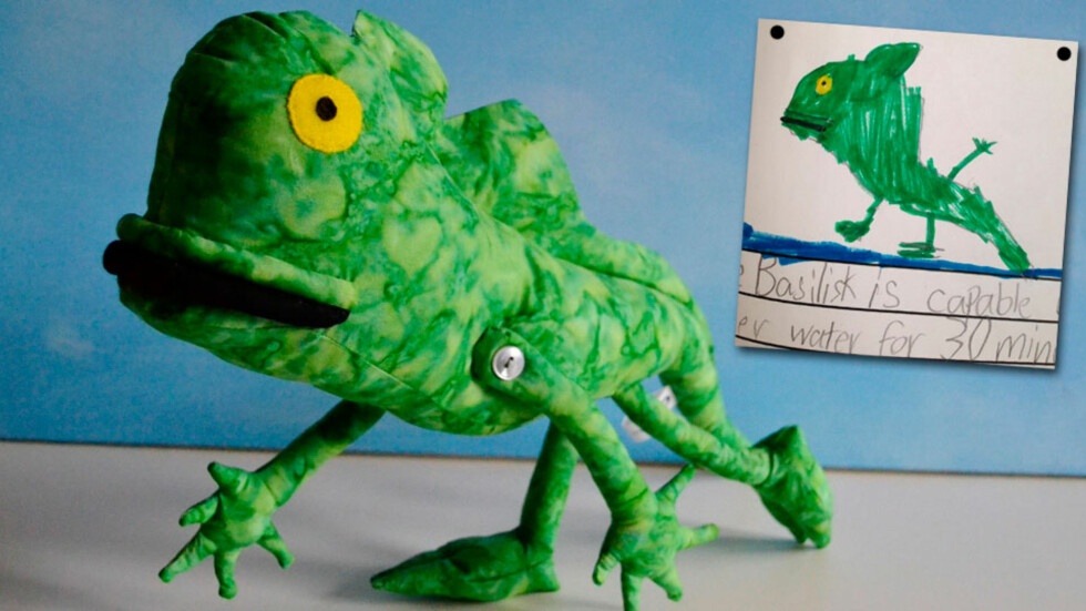 LAGER DET BARNET TEGNER: Og resultatet blir helt fantastisk! Foto: Childsown.com