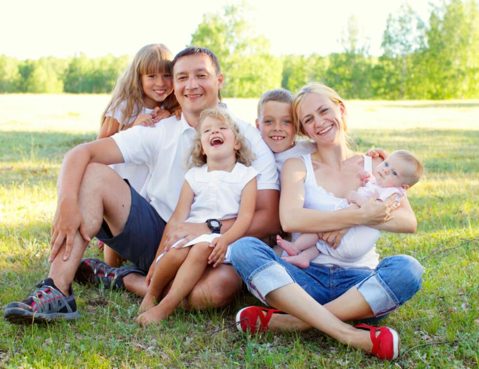 HAPPY FAMILY? Eller totalt feriekaos? Foto: Shutterstock.com ©