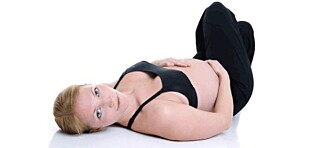 Trene mage når man er gravid?