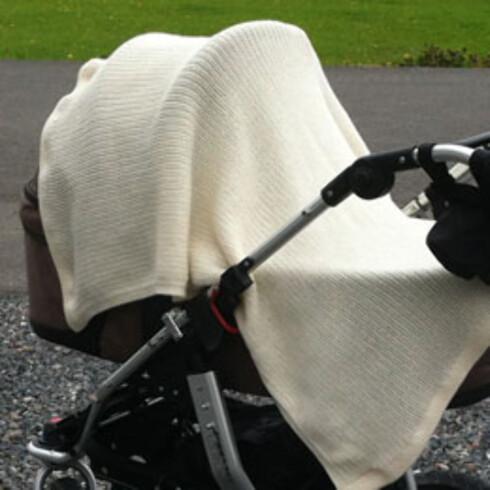"""""""Luftehull"""" med falsk trygghet: Helseteppe, strikket eller heklet teppe - det hjelper ikke, sier helsesøster!"""
