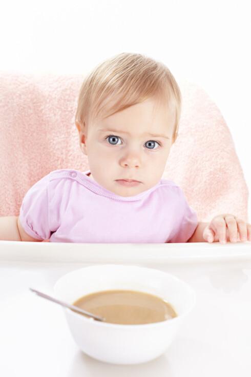 NEKTER Å SPISE: Hvordan bør barnehagen reagere? Foto: Shutterstock Foto: Shutterstock
