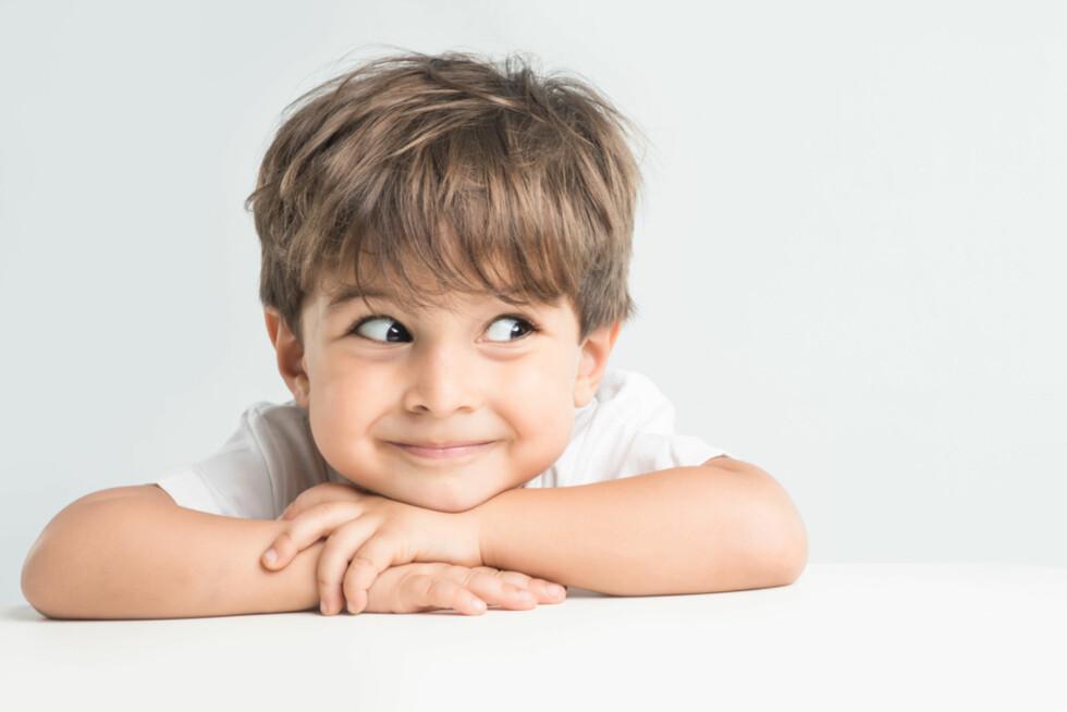3 år: Klar for de store - og mange - spørsmålene? Eller lurerier og tullball! Foto: Shutterstock.com ©