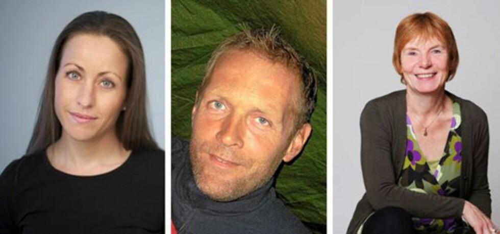 FORSKJELLIGE SYNSPUNKTER OM RUTINER: Nina Stanghov Ulstein, Jørn Isaksen og Elisabeth Gerhardsen. Foto: Privat