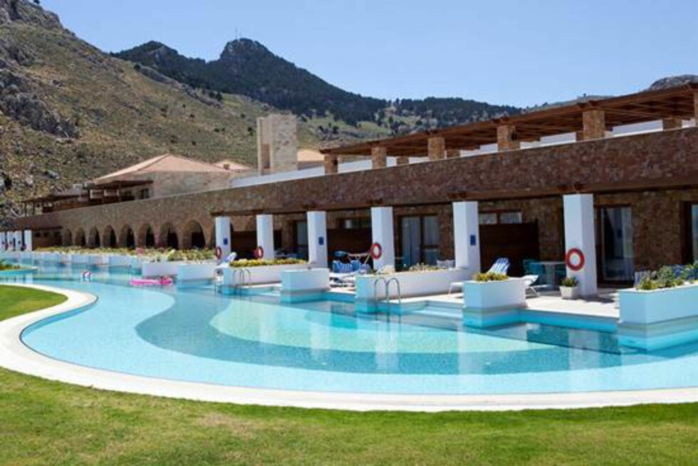 <strong>Atlantica Aegean Park på Rhodos:</strong> Tilbyr egen premium-del for familier. Foto: Startour.no