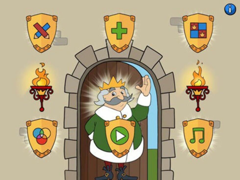 Bokstavkongen er en kjent figur for mange barn. Foto: iTunes