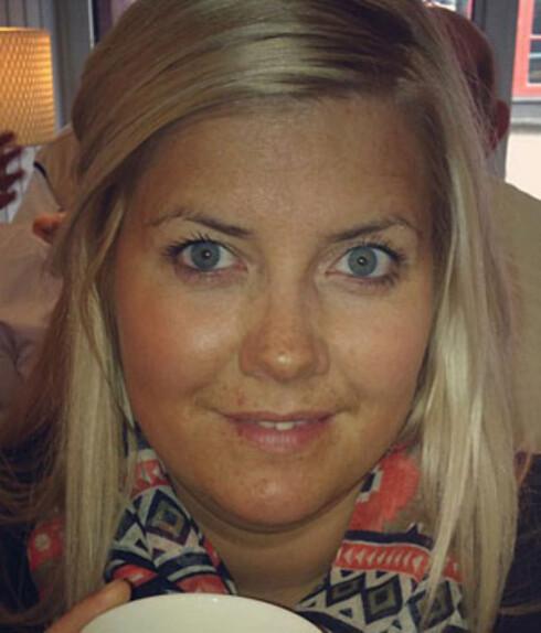 SELGER IKKE KLÆR MED HODESKALLER: Butikkeier Katrine Aas synes ikke slike trykk passer på barneklær