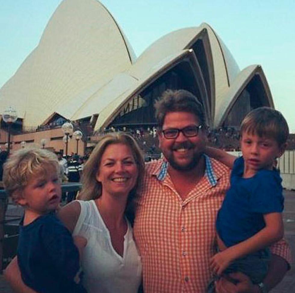"Familien Pettersson har reist mye under sin ""Thaimout""."
