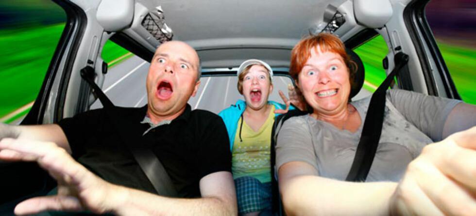 <strong>Hvem er familiens råkjører? Foto:</strong> Shutterstock.com ©