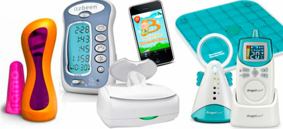 10 produkter for høyteknologiske babyer