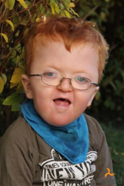 STOR BARNEHAGEGUTT: Christoffer er idag en blid 4-åring.