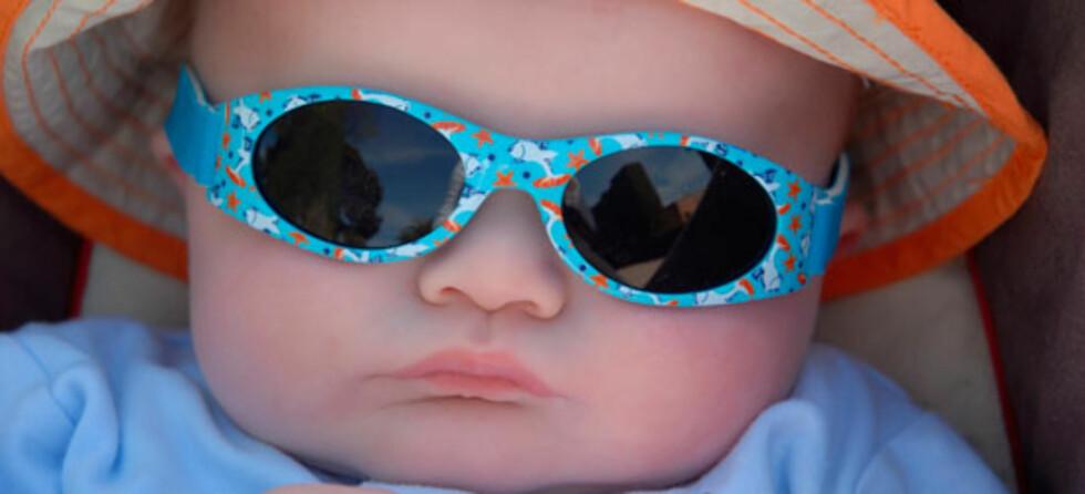 Mange babyer blir med på Sydentur. Men er det egentlig forsvarlig? Foto: Shutterstock.com ©