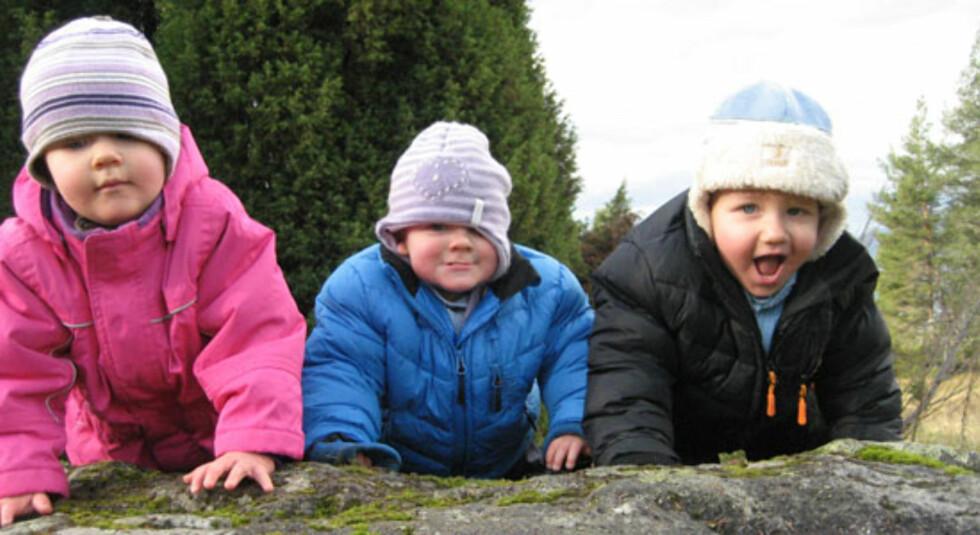 Trillinger - tre barn med hver sin personlighet