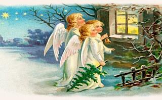 Om han var redd engelen? Nei, så langt i fra!