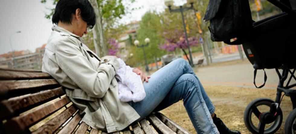 PCO kan forårsake vansker med amming. Bilde: Shutterstock.com