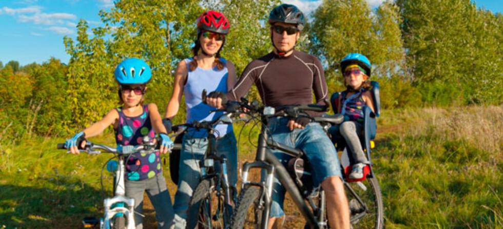 Ta med barna på sykkel i sommer!