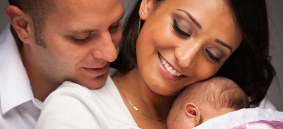 Å få barn kan sette samlivet på en hard prøve. Foto: Shutterstock.com ©