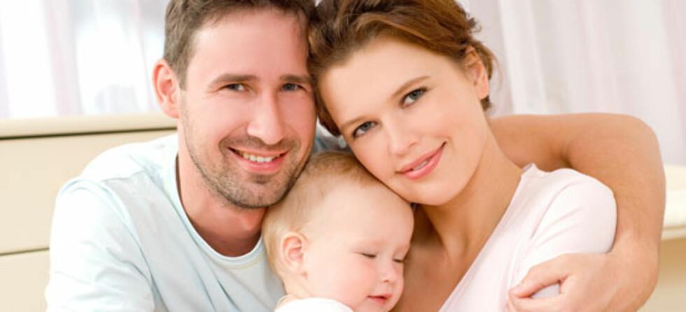 Når 2 blir 3 - lykke eller krise? Foto: Shutterstock