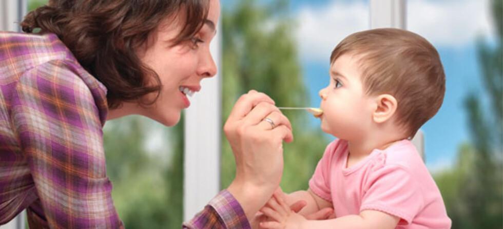 Tran - anbefalt for baby! Foto: Shutterstock.com ©