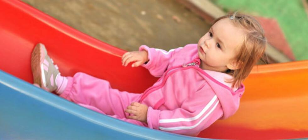 Det er individuelt hvor raskt barn finner seg til rette i barnehagen. Foto: Shutterstock ©