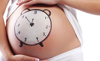 Overtid - gravid over termin