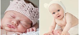 Lag «babyprops» til nyfødtfotograferingen helt selv