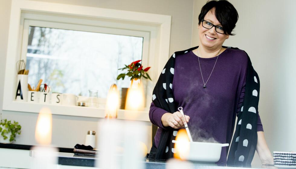 MATBLOGG: Trine Sandberg driver matbloggen «Trines Matblogg». Foto: Vegard Wivestad Grøtt / NTB scanpix