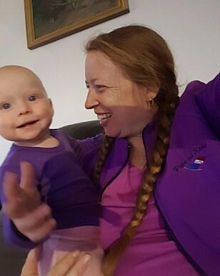 FØDSELEN BLE EN TØFF OPPLEVELSE: Emma Iselin er nå nesten ett og et halvt år gammel. Foto: Privat