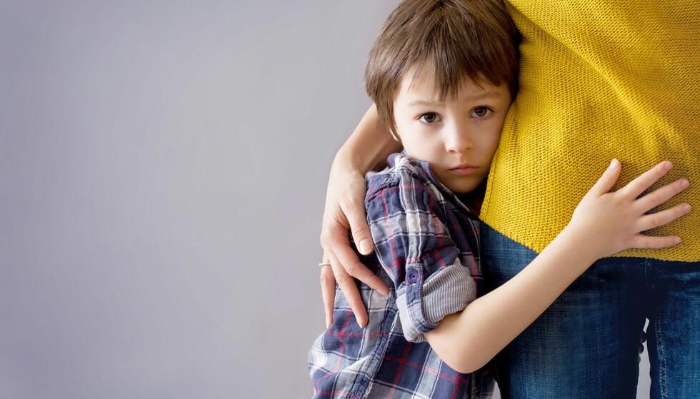 EKSTREM MAMMADALT: Mange barn går gjennom en periode hvor det kun er mamma eller pappa som er god nok. Foto: NTB Scanpix