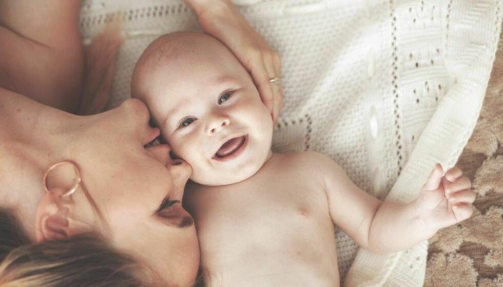 NYBAKT MAMMA: Den første måneden etter fødselen er det fortsatt mye som skjer i kroppen din. Foto: Shutterstock / NTB Scanpix