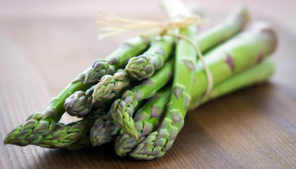 <strong>ASPARGES:</strong> Asparges er en svært sunn grønnsak, både de hvite og de grønne. FOTO: NTB scanpix