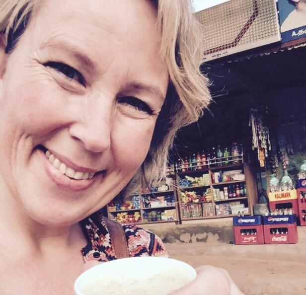 REISEGLAD: Kristin Bru Espelid hos Bergen Reisemedisin synes ikke barn skal være en stopper for å utforske verden, men understreker viktigheten av å ta nødvendige vaksinene og andre forhåndsregler. Foto: Privat