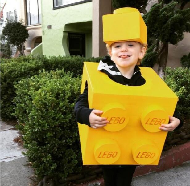 LEGOKLOSS: Legokostymer er enkle å lage selv. Foto: Mark Bushwell