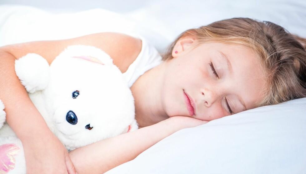 SØVNSYKDOM HOS BARN: Insomnia, søvngjengeri og nattskrekk er de vanligste søvnsykdommene hos barn. Foto: NTB Scanpix