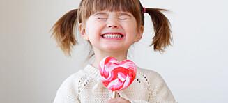 Når er det egentlig greit å gi barn godteri?