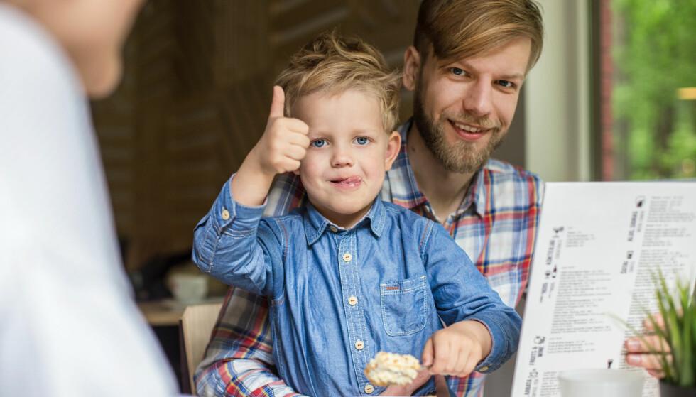 BARN PÅ RESTAURANT: Ikke alle barn sitter i ro på restaurant, det har restauranteieren besluttet å gjøre noe med. Foto: NTB Scanpix