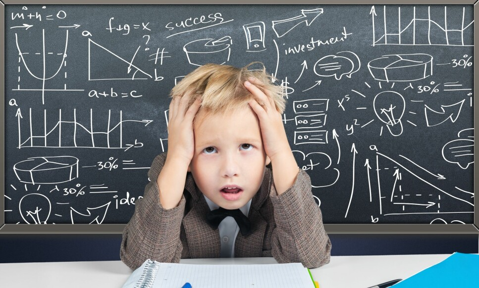 STRESS HOS BARN: Symptomer på stress hos barn kan være annerledes enn hos voksne. Foto: NTB Scanpix
